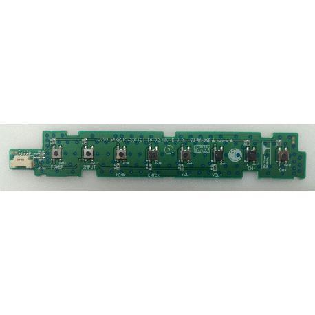 MODULO DE BOTONES EAX62074301(2) TV LG 42LE4500 - RECUPERADO