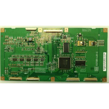 PLACA T-CON BOARD V270B1-L01-C PARA TV BLUESKY BS2607 HD - RECUPERADA
