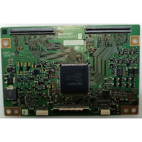 PLACA T-CON BOARD CPWBX3298TPZ E PARA TV PHILIPS 32PF5320/10 - RECUPERADA