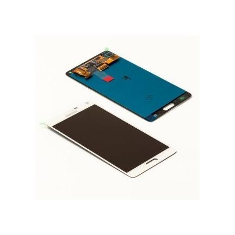 PANTALLA LCD + TACTIL ORIGINAL SAMSUNG GALAXY NOTE 4 SM-N910F BLANCA - RECUPERADA TARA