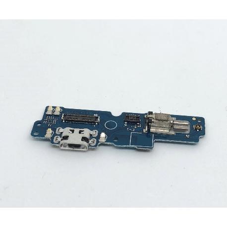 MODULO CONECTOR DE CARGA, VIBRADOR Y MICROFONO PARA ASUS ZENFONE 4 MAX PRO ZC554KL