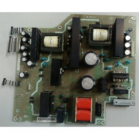 FUENTE DE ALIMENTACIÓN POWER SUPPLY DUNTKD605WE PARA TV SHARP LC-32P70E - RECUPERADA