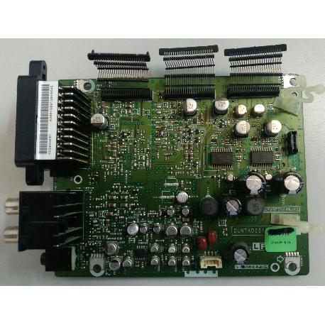 PLACA DE CONEXIÓN SCART AV DUNTKD60428213 PARA TV SHARP LC-32P70E - RECUPERADA