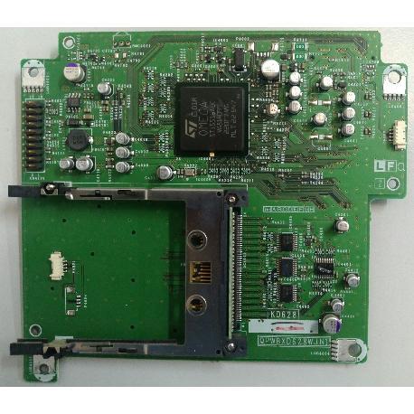 PLACA CARD READER  KD628 QPWBXD628WJN1 PARA TV SHARP LC-32P70E - RECUPERADA