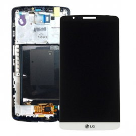 Pantalla Tactil + LCD Display con Marco Original para LG Optimus G3 - Blanca
