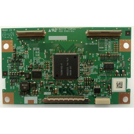 PLACA T-CON BOARD MDK336V-0 PARA TV KIAMO LCD 32HDTK - RECUPERADA
