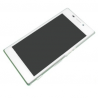 Pantalla Lcd + Tactil con marco Original Sony Xperia M2 D2303 D2305 D2306 Blanca de Desmontaje