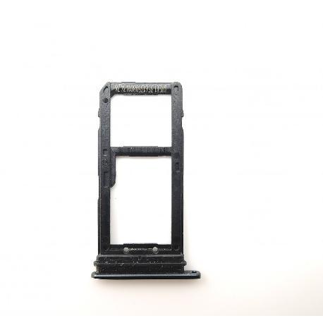 BANDEJA DE TARJETA SIM Y SD PARA HTC U11 - NEGRA
