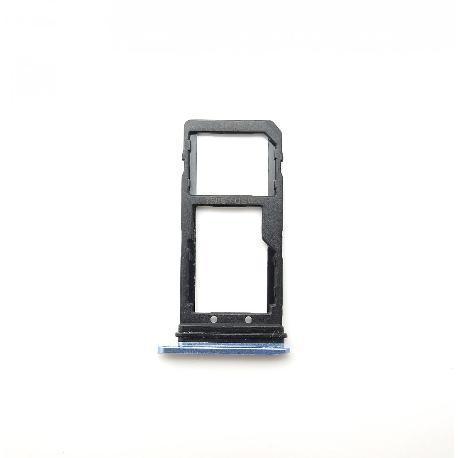 BANDEJA DE TARJETA SIM Y SD PARA HTC U11 - AZUL