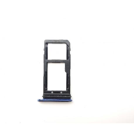 BANDEJA DE TARJETA SIM Y SD PARA HTC U11 - AZUL OSCURO