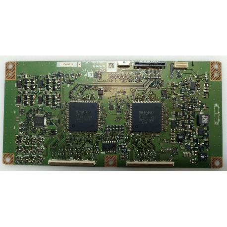PLACA T-CON BOARD CPWBX3520TPZA PARA TV SHARP LC-46XD1E - RECUPERADA