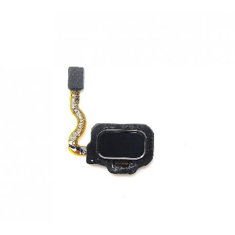 FLEX BOTON HUELLA DACTILAR TRASERO PARA SAMSUNG GALAXY S8 G950F, S8+ PLUS G955F  - NEGRO