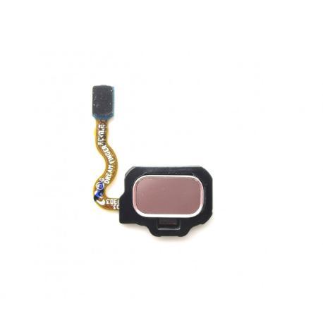 FLEX BOTON HUELLA DACTILAR TRASERO PARA SAMSUNG GALAXY S8 G950F, S8 PLUS G955F - LILA