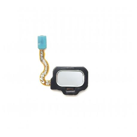 FLEX BOTON HUELLA DACTILAR TRASERO PARA SAMSUNG GALAXY S8 G950F, S8 PLUS G955F - PLATA