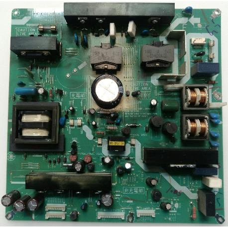 FUENTE DE ALIMENTACIÓN POWER SUPPLY V28A00718B1 PARA TV TOSHIBA 42CV505D - RECUPERADA