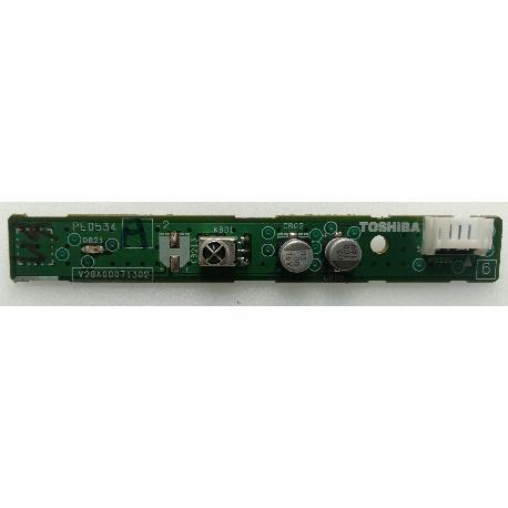 PLACA SENSOR IR V28A00071302 PARA TV TOSHIBA 37CV505D - RECUPERADA