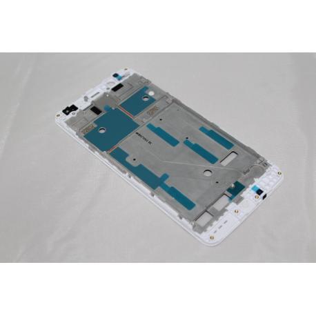 MARCO FRONTAL DE LCD DISPLAY PARA BQ AQUARIS V , U2 , U2 LITE - BLANCO