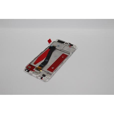 PANTALLA LCD DISPLAY + TACTIL CON MARCO PARA HUAWEI P10 - BLANCA