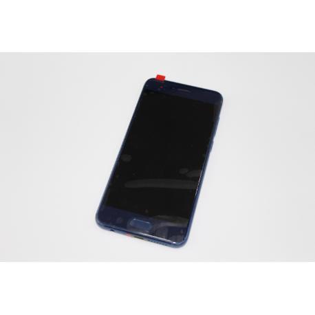 PANTALLA LCD DISPLAY + TACTIL CON MARCO PARA HUAWEI HONOR 9 STF-L09 AZUL