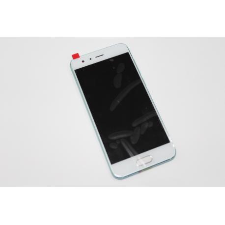 PANTALLA LCD DISPLAY + TACTIL CON MARCO PARA HUAWEI HONOR 9 STF-L09 BLANCA VERDE