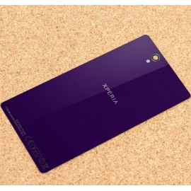 Tapa trasera Carcasa Sony Xperia Z L36H C6602 Lila con NFC