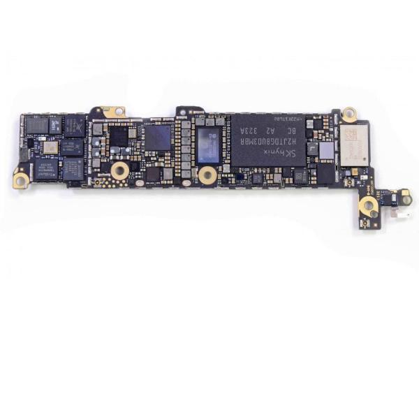 PLACA BASE LOGIC BOARD MOTHERBOARD IPHONE 5S LIBRE 32GB (BOTON HOME NEGRO) - RECUPERADA