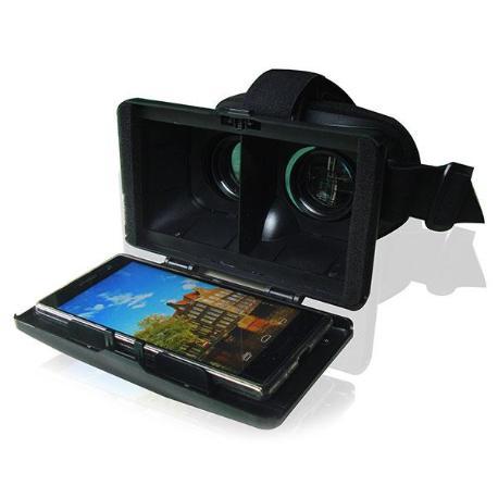 """GAFAS 3D REALIDAD VIRTUAL SMARTPHONES 4"""" A 5.7"""""""