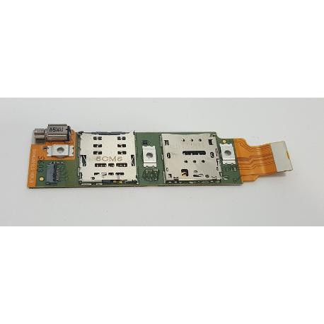 MODULO SIM Y SD ORIGINAL PARA HUAWEI MEDIAPAD M2 10.0 4G M2-A01L - RECUPERADO
