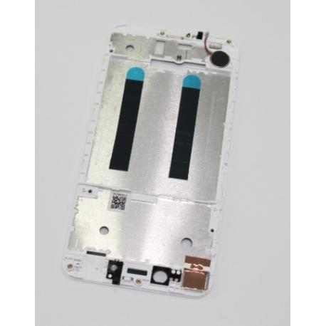 CARCASA FRONTAL DE LCD PARA ASUS ZENFONE LIVE ZB501KL - BLANCA