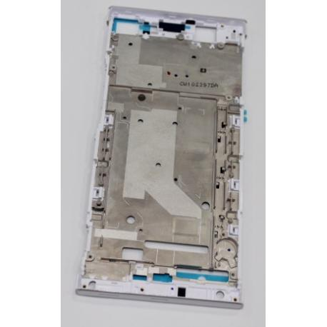 CARCASA FRONTAL DE LCD PARA SONY XPERIA XA1 ULTRA - BLANCA