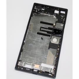 CARCASA FRONTAL DE LCD PARA SONY XPERIA XZ PREMIUM G8142 - NEGRA