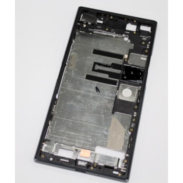 CARCASA FRONTAL DE LCD PARA SONY XPERIA XZ PREMIUM G8142 - PLATA / BLANCA