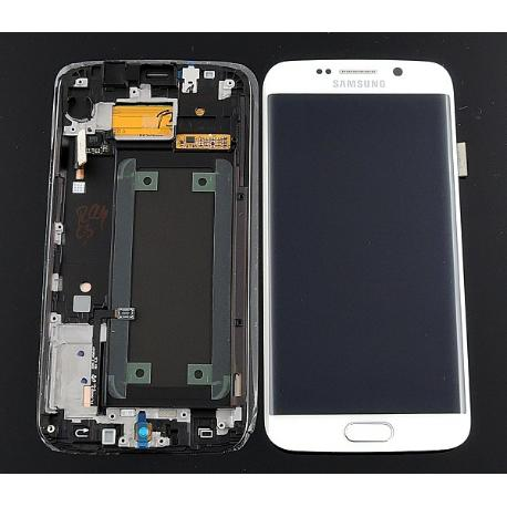 PANTALLA LCD + TACTIL ORIGINAL SAMSUNG GALAXY S6 EDGE SM-G925F -  BLANCA USADA