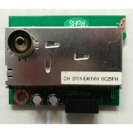 MODULO CONECTOR DE ANTENA CH DTI1-E4I1VH 0C25FH PARA TV OKI B24E-LED1 - RECUPERADO