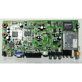 PLACA BASE MAIN BOARD SMT080792-0105 PARA TV VECTOR VISION VEC-2010P - RECUPERADA