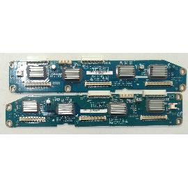 SET DE PLACAS BUFFER BOARDS LJ92-00796E LJ92-00797F PARA TV SONY KE-P42M1 - RECUPERADAS