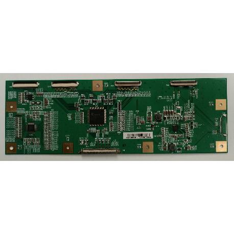 PLACA T-CON BOARD 222000004601 PARA TV HITACHI 26LD6600B - RECUPERADA