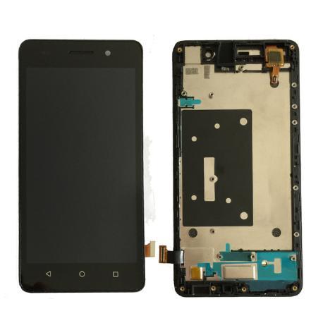 PANTALLA TACTIL + LCD CON MARCO PARA HUAWEI HONOR 4C - NEGRA
