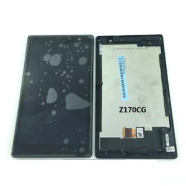 PANTALLA LCD DISPLAY + TACTIL CON MARCO PARA ASUS ZENPAD Z170C P012 P01Y 3G - NEGRA