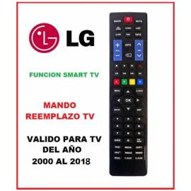 MANDO A DISTANCIA COMPATIBLE PARA TV LG FABRICADAS APARTIR DEL AÑO 2000 - 2018