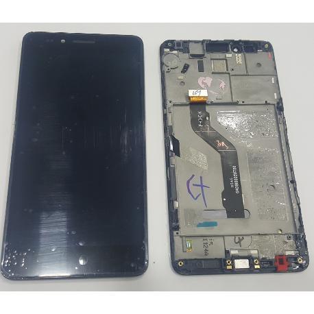 PANTALLA LCD DISPLAY + TACTIL CON MARCO PARA HONOR 5X / X5 / HUAWEI GR5 NEGRA - RECUPERADA