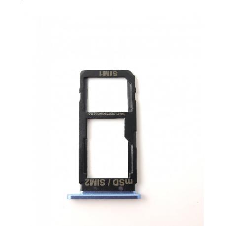 BANDEJA DE TARJETA SIM / SD PARA HTC U ULTRA - AZUL