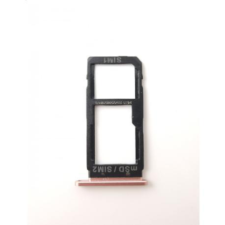 BANDEJA DE TARJETA SIM / SD PARA HTC U ULTRA - ROSA