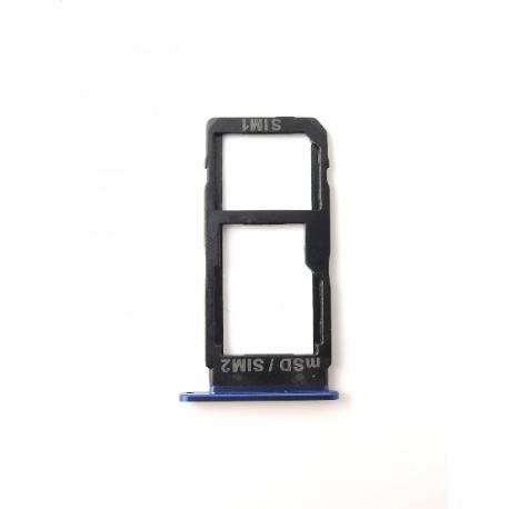 BANDEJA DE TARJETA SIM / SD PARA HTC U ULTRA - AZUL OSCURO