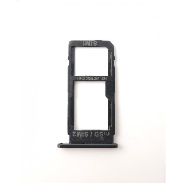 BANDEJA DE TARJETA SIM / SD PARA HTC U ULTRA - NEGRA