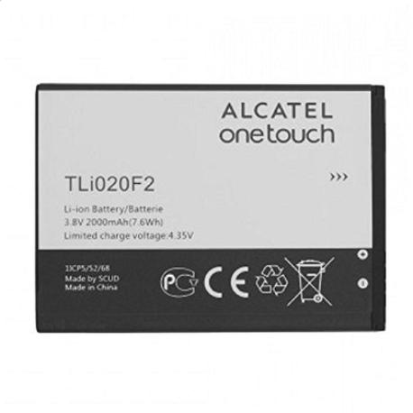 BATERIA TLI020F2 PARA ALCATEL 7040T FIERCE 2 / A564C POP ICON DE 2000MAH