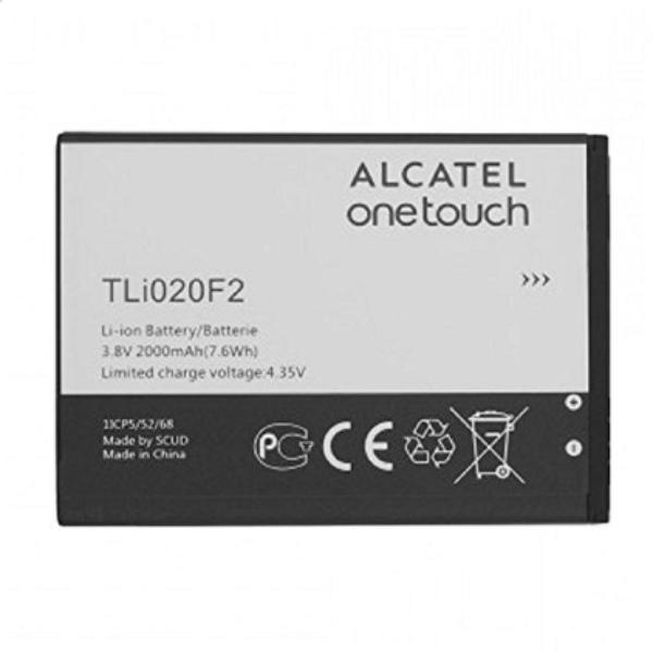 BATERIA TLI020F2 PARA ALCATEL 7040T FIERCE 2 / A564C POP ICON DE 2000MAH