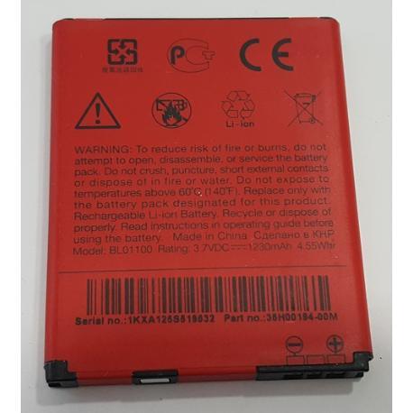 BATERIA ORIGINAL S850 PARA HTC DESIRE C, DESIRE 200 DE 1230 MAH - RECUPERADA