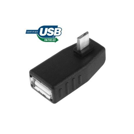 ADAPTADOR MICRO USB A USB HEMBRA OTG