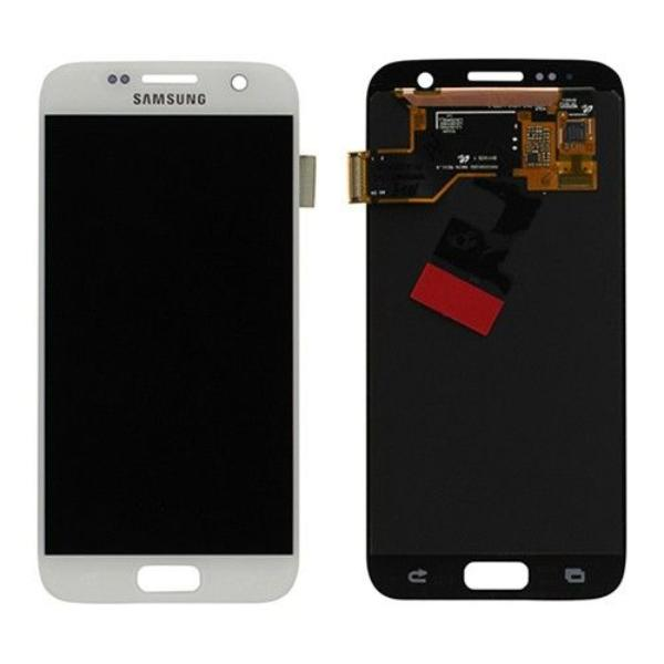 PANTALLA LCD DISPLAY + TACTIL ORIGINAL PARA SAMSUNG GALAXY S7 SM-G930F - BLANCA